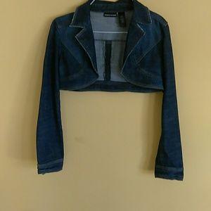 DKNY ladies jean jacket
